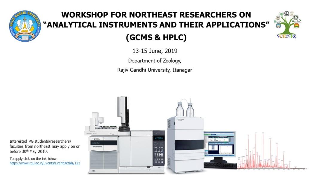 Workshop on GCMS & HPLC_RGU